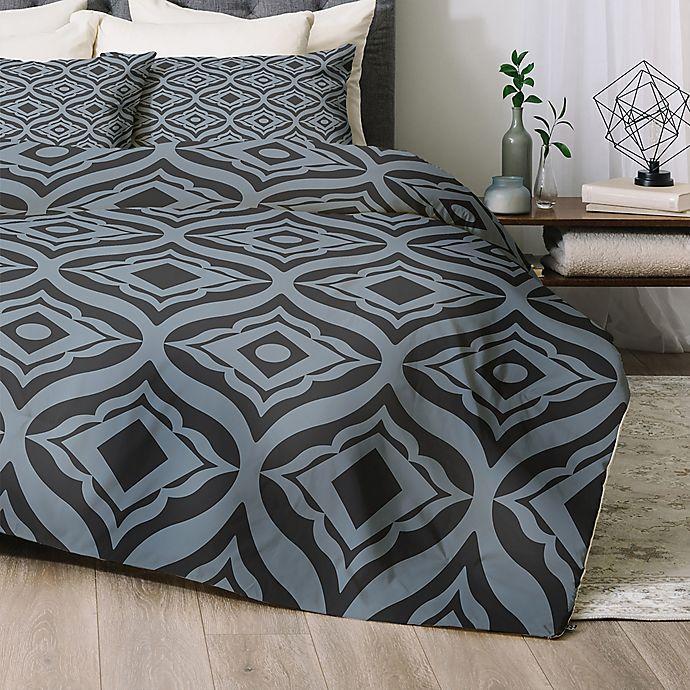 Open Window At Dusk: Buy Deny Designs Trevino Dusk Queen Comforter Set In Blue