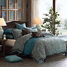 Hampton Hill Lauren 8-Piece Comforter Set in True Blue