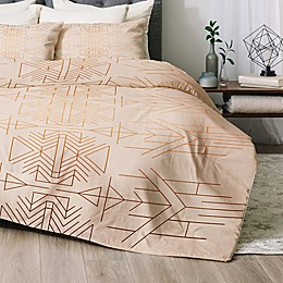 Deny Designs Esprit Twin/Twin XL 2-Piece Comforter Set in Gold