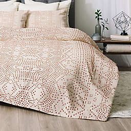 Deny Designs Marrakeshi 2-Piece Twin/Twin XL Comforter Set in Gold