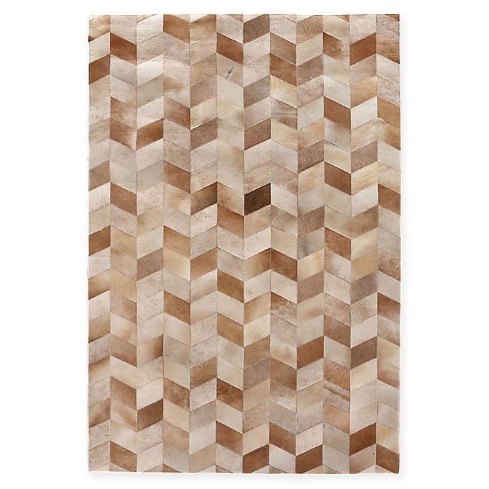 Alternate image 1 for Exquisite Rugs  Natural Hide Rug in Beige