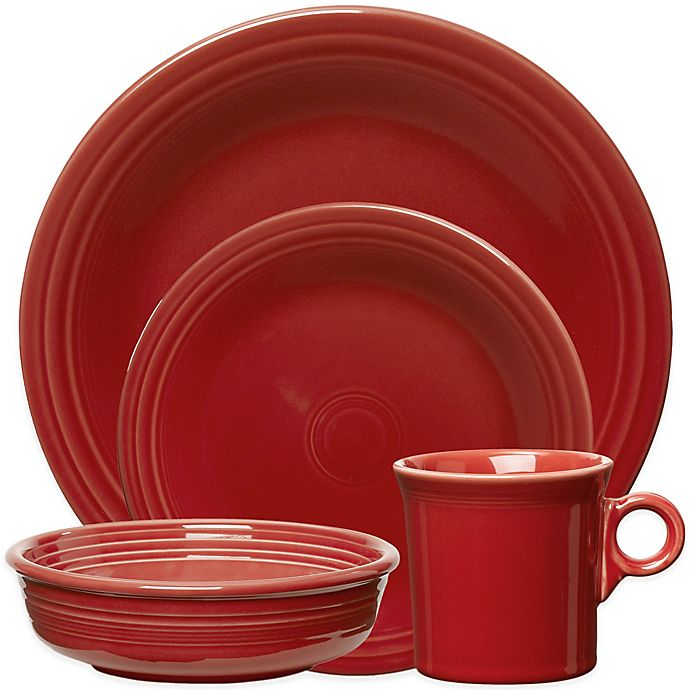Alternate image 1 for Fiesta® Dinnerware Collection in Scarlet