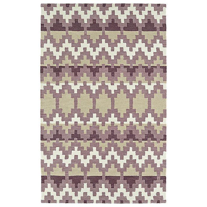 Alternate image 1 for Kaleen Lakota Wasula 3-Foot 6-Inch x 5-Foot 6-Inch Area Rug in Purple