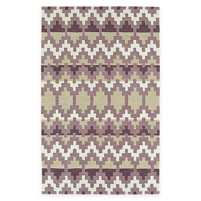 Alternate image 1 for Kaleen Lakota Wasula 5-Foot x 7-Foot 9-Inch Area Rug in Purple
