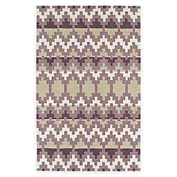 Kaleen Lakota Wasula 9' x 12' Area Rug in Purple
