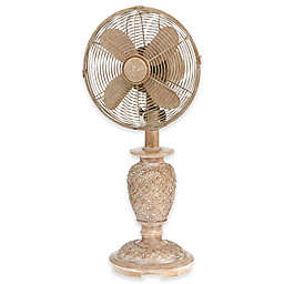 Deco Breeze® 9-Inch 3-Speed Muriel Table Fan in White