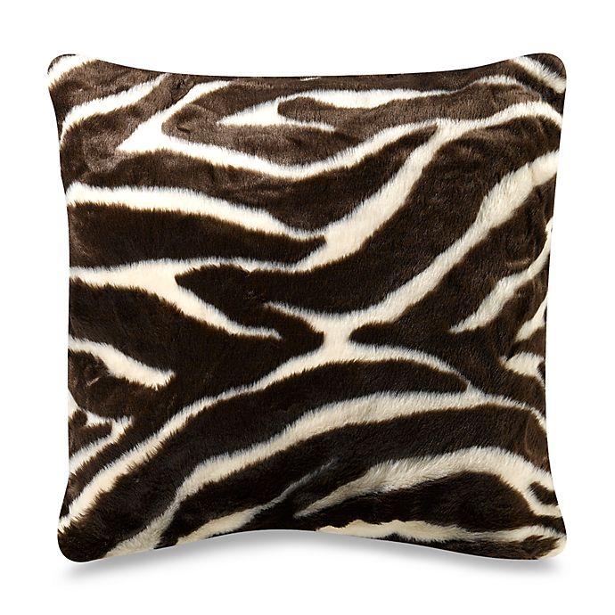 Outstanding Brown Zebra 18 Square Toss Pillow Bed Bath Beyond Uwap Interior Chair Design Uwaporg