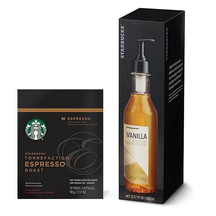 Alternate image 1 for Starbucks® Verismo™ Pods and Syrups