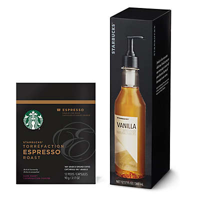 Starbucks® Verismo™ Pods and Syrups