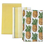 Tommy Bahama® Pineapple Stripe Kitchen Towels (Set of 3)
