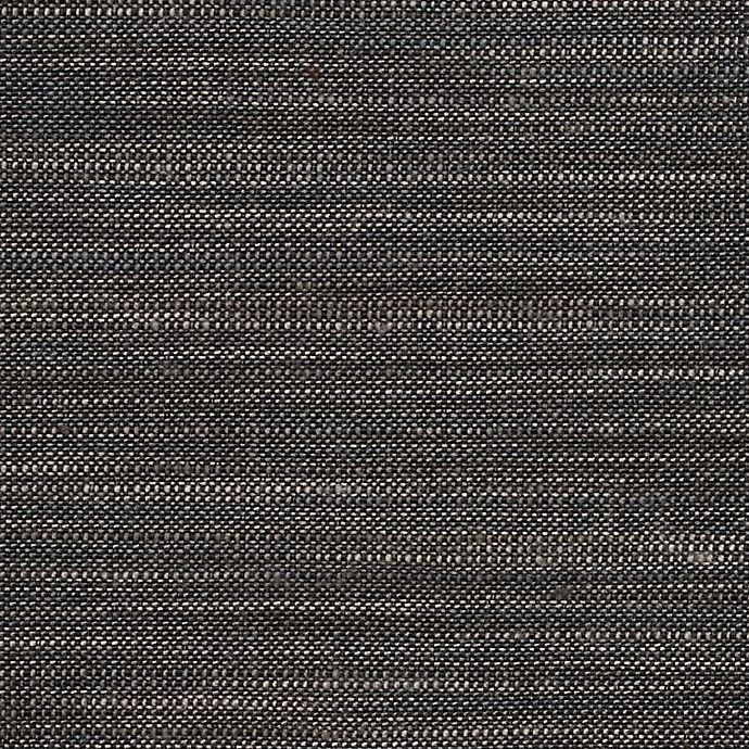 Alternate image 1 for GLOWE   Weave Fabric Roman Shade Swatch in Graphite