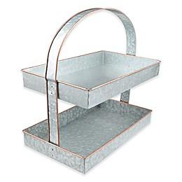 Thirstystone® Galvanized Steel and Copper 2-Tier Server
