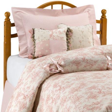 Pink//Cream Glenna Jean Isabella Pillow Roll