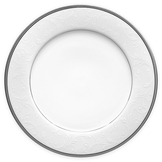 Alternate image 1 for Noritake® Regina Platinum Dinner Plate