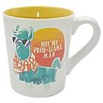 Boston Warehouse®  Not My Prob-Llama, Man  Mug in White
