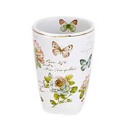 Avanti Butterfly Garden Tumbler in White