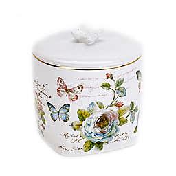 Avanti Butterfly Garden Jar in White