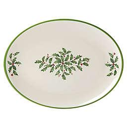 Lenox® Holiday Melamine 16.25-Inch Oval Platter