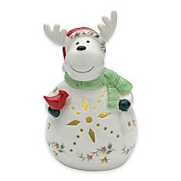 Pfaltzgraff® Winterberry Figural Reindeer with LED Light