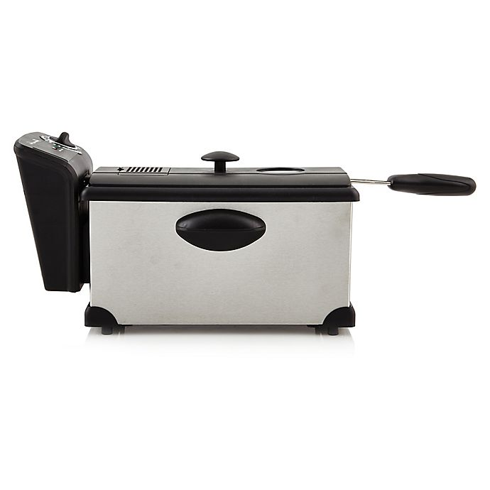 Alternate image 1 for Professional Series® 3-Liter Stainless Steel Deep Fryer