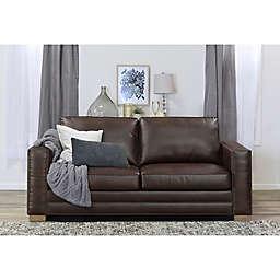 Serta Mason Bonded Leather Sofa