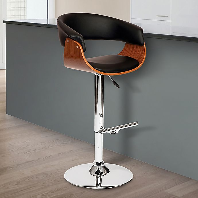 Fabulous Armen Living Paris Bar Stool Bed Bath Beyond Squirreltailoven Fun Painted Chair Ideas Images Squirreltailovenorg