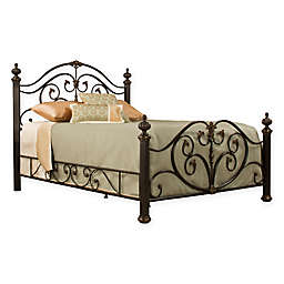 Hillsdale Grand Isle Bed Set with Rails in Bronze