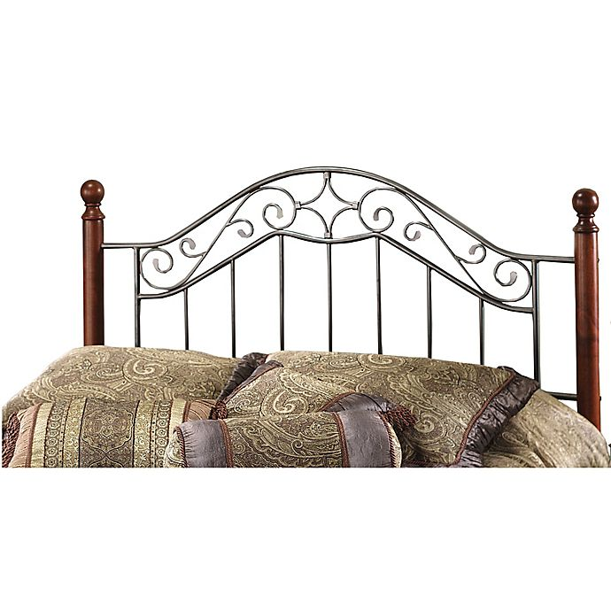 Alternate image 1 for Hillsdale Martino King Headboard in Smoke Silver/Cherry