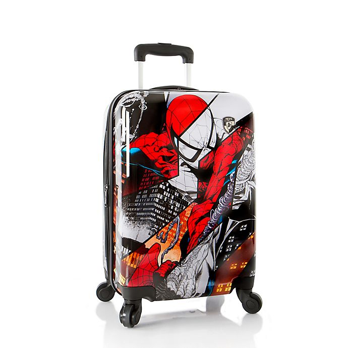 792e2e13b Heys® Marvel® Spider-Man 21-Inch Upright Spinner Luggage in Black ...