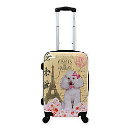 Chariot 20-Inch  Hardside Spinner Suitcase in Paris Pink