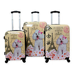 Chariot Hardside Spinner Luggage Collection in Paris Pink