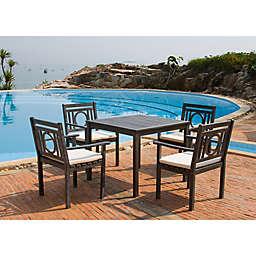 Safavieh Montclair 5-Piece Outdoor Dining Set