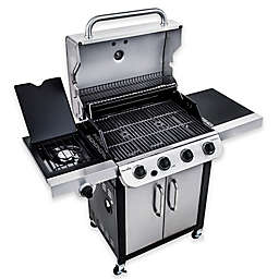 Char-Broil® Performance™ 463377017 Cabinet 475 4-Burner Gas Grill in Black/Stainless Steel