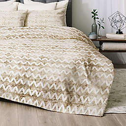 Deny Designs Rustica 2-Piece Twin/Twin XL Comforter Set in Gold