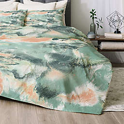 Deny Designs Jacqueline Maldonado Marble Mist Comforter Set