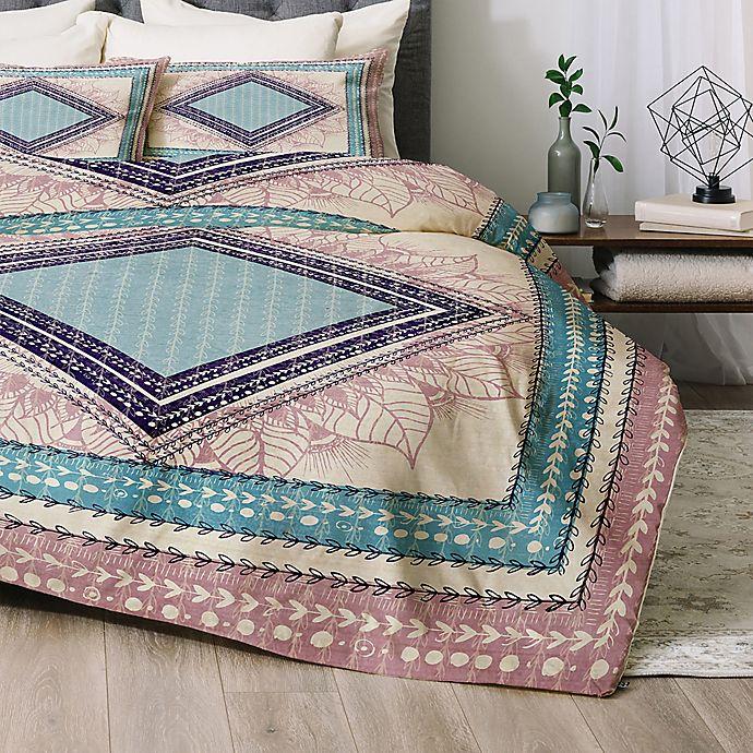 Alternate image 1 for Deny Designs RBS Natural King Comforter Set in Pink