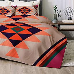 Deny Designs Desert Sunrise 2-Piece Twin/Twin XL Comforter Set in Orange