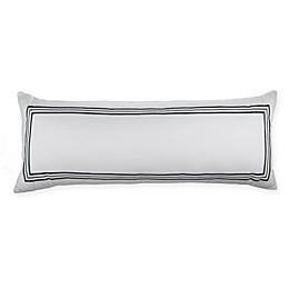 Wamsutta® Hotel Triple Baratta Stitch Bolster Throw Pillow