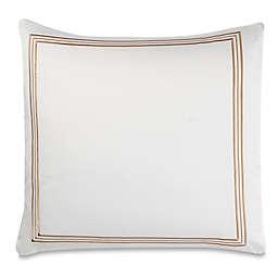 Wamsutta® Hotel Triple Baratta Stitch European Pillow Sham in Honey
