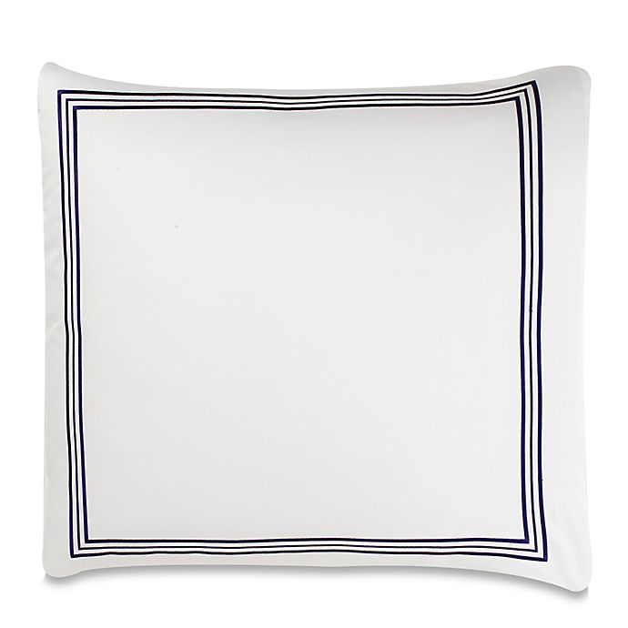 Alternate image 1 for Wamsutta® Hotel Triple Baratta Stitch European Pillow Sham
