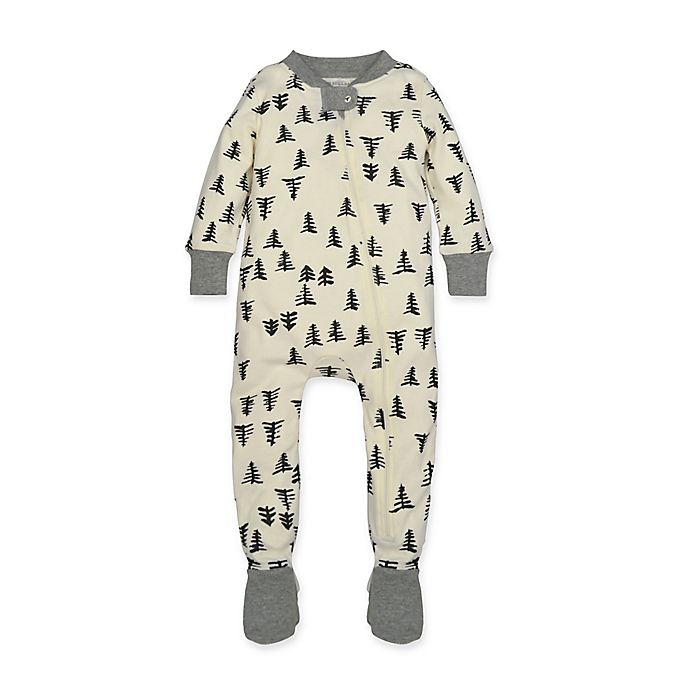 a24f36c2bd4a Burt s Bees Baby® Tree Print Footie Pajama in Ivory