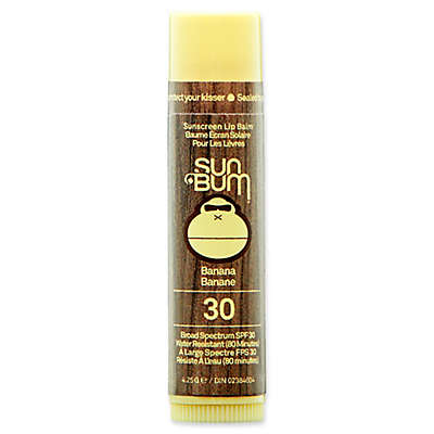 Sun Bum® Sunscreen Lip Balm SPF 30 in Banana