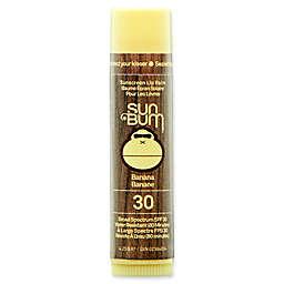 Sun Bum® Sunscreen Lip Balm SPF 30 in Banana
