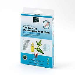 Earth Therapeutics® K-Beauty Foot Care 2-Pack Tea Tree Moisturizing Foot Mask