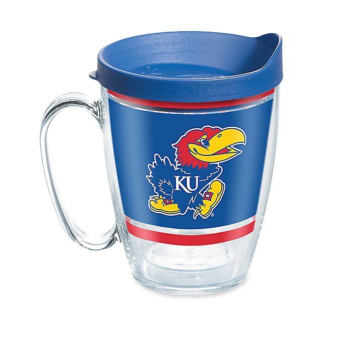 Alternate image 1 for Tervis® University of Kansas 16 oz. Legend Wrap Mug