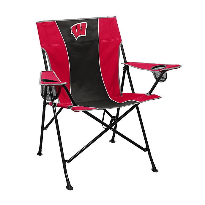 Alternate image 1 for University of Wisconsin Foldable Pregame Chair
