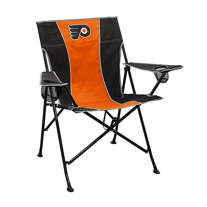 Astounding Nhl Philadelphia Flyers Foldable Pregame Chair Ocoug Best Dining Table And Chair Ideas Images Ocougorg