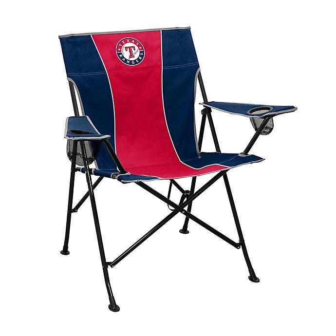 Alternate image 1 for MLB Texas Rangers Foldable Pregame Chair