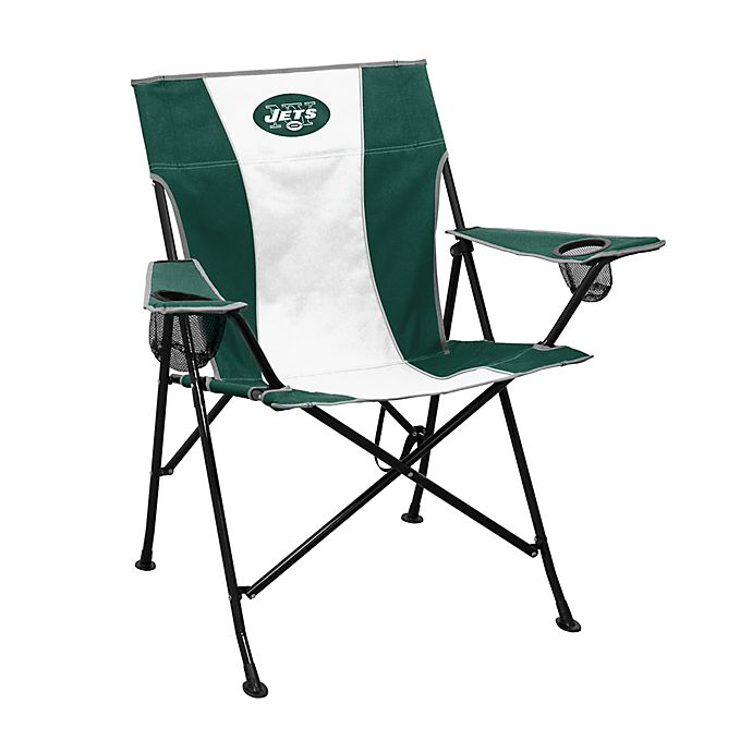 Magnificent Nfl New York Jets Foldable Pregame Chair Bed Bath Beyond Beatyapartments Chair Design Images Beatyapartmentscom
