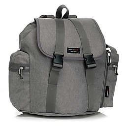 Storksak Backpack Diaper Bag in Grey